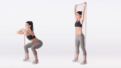 Banded Squat Press