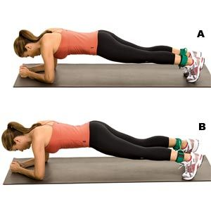 Band plank taps